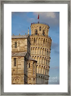 Pisa's Tower Framed Print