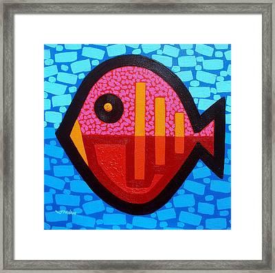 Pisces 4 Framed Print by John  Nolan