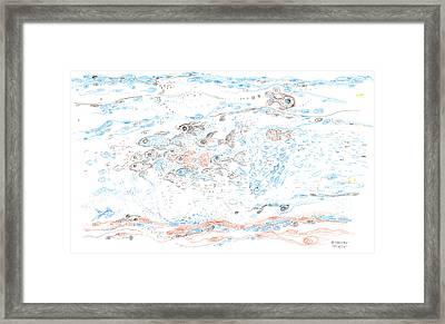 Pisces Framed Print by Regina Valluzzi