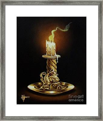 Pisces The Fish Framed Print by Gilee Barton
