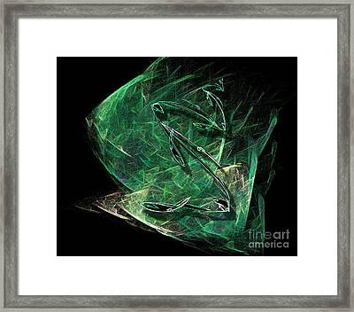 Pisces Framed Print by Viktor Savchenko