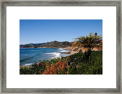 Pismo Beach California Framed Print by Susanne Van Hulst