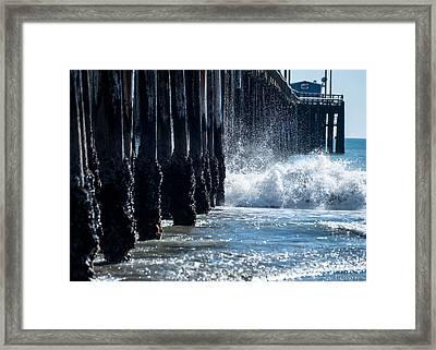 Pismo Pier Framed Print