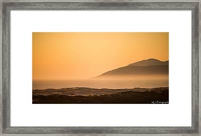 Pismo Sunrise Framed Print