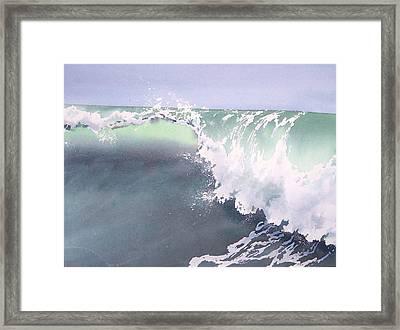 Pismo Wave Number Eight Framed Print by Philip Fleischer