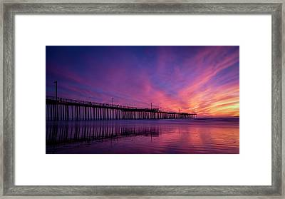 Framed Print featuring the photograph Pismo's Palette by Sean Foster