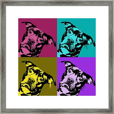 Pit Face Framed Print by Dean Russo