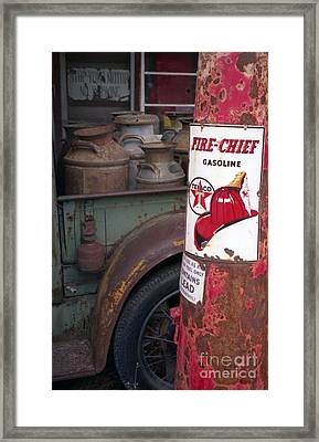 Pit Stop Framed Print by Richard Rizzo