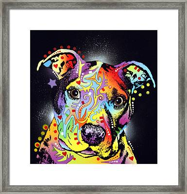 Pitastic Framed Print by Dean Russo