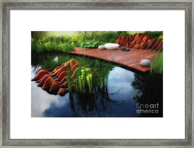 Pitcher Plant Garden 2 Framed Print by Mike Nellums