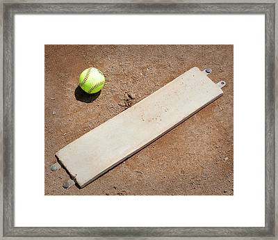 Pitchers Mound Framed Print by Kelley King