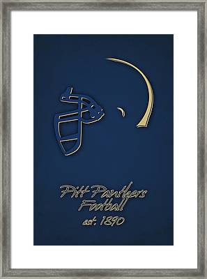 Pitt Panthers Framed Print by Joe Hamilton