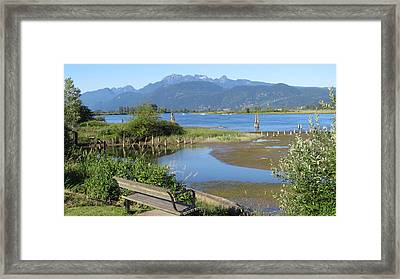 Pitt River Framed Print
