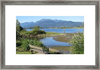 Pitt River Framed Print