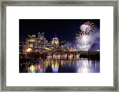 Pittsburgh 1  Framed Print