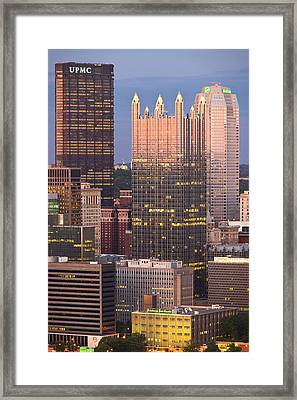 Pittsburgh 19  Framed Print by Emmanuel Panagiotakis