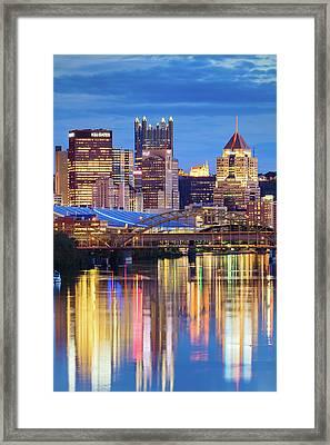 Pittsburgh 2 Framed Print