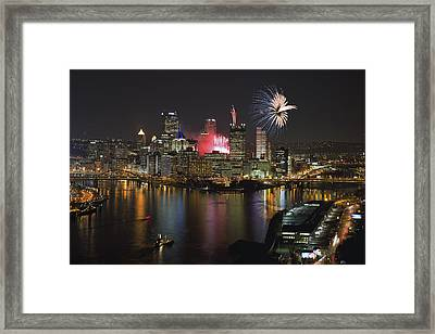 Pittsburgh 3 Framed Print by Emmanuel Panagiotakis