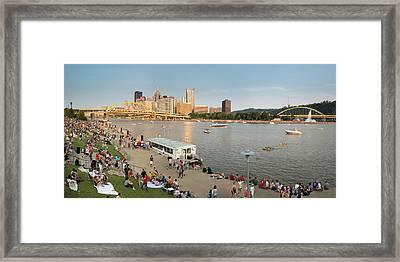 Pittsburgh 4th  Framed Print