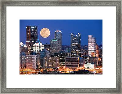 Pittsburgh 6 Framed Print by Emmanuel Panagiotakis