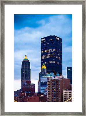 Pittsburgh - 7012 Framed Print
