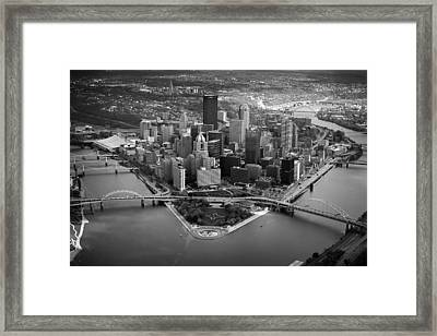 Pittsburgh 8 Framed Print by Emmanuel Panagiotakis