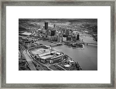 Pittsburgh 9 Framed Print