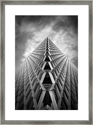 Pittsburgh Architecture  3bw Framed Print by Emmanuel Panagiotakis