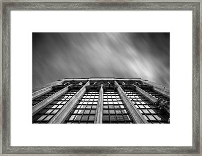Pittsburgh Architecture  4bw Framed Print