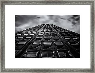 Pittsburgh Architecture 5bw Framed Print