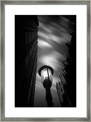 Pittsburgh Architecture77bw Framed Print by Emmanuel Panagiotakis