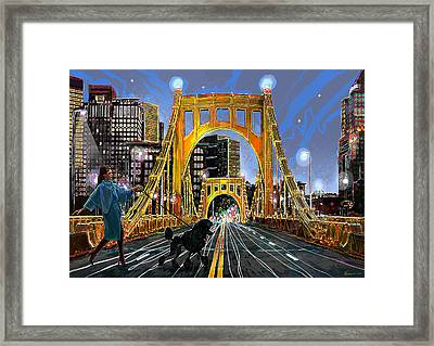 Pittsburgh Chic Framed Print