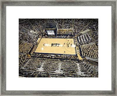 Pittsburgh Panthers Petersen Events Center Framed Print by Replay Photos