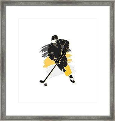 Pittsburgh Penguins Player Shirt Framed Print by Joe Hamilton