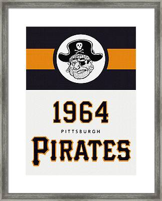 Pittsburgh Pirates 1964 Media Guide Framed Print