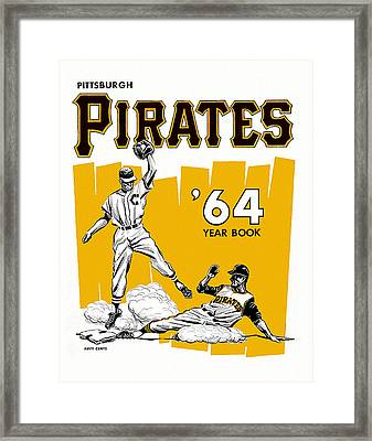 Pittsburgh Pirates 64 Yearbook Framed Print