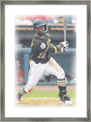 Pittsburgh Pirates Andrew Mccutchen 3 Framed Print