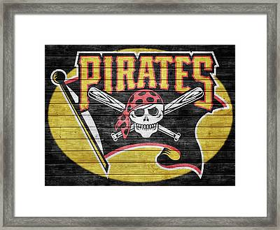 Pittsburgh Pirates Barn Door Framed Print