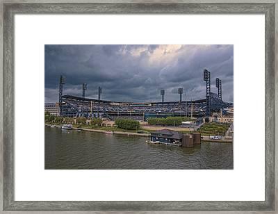 Pittsburgh Pirates Pnc Park B Framed Print by David Haskett