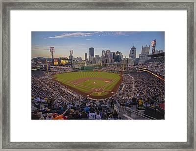 Pittsburgh Pirates Pnc Park Framed Print by David Haskett