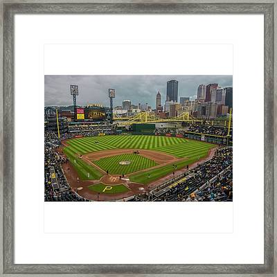 #pittsburgh #pittsburghpirates Framed Print