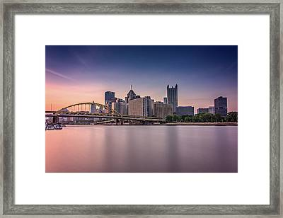 Pittsburgh Framed Print by Rick Berk