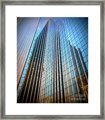 Pittsburgh Skyline Pittsburgh, Pa Framed Print