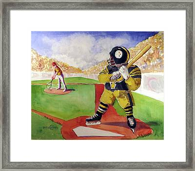 Pittsburgh Sports Dream Framed Print by Will White