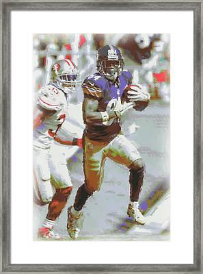 Pittsburgh Steelers Antonio Brown 3 Framed Print by Joe Hamilton