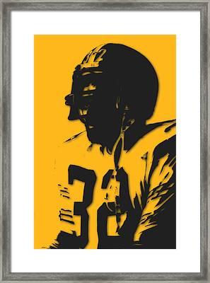 Pittsburgh Steelers Franco Harris Framed Print