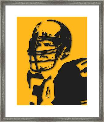 Pittsburgh Steelers Jack Lambert Framed Print by Joe Hamilton