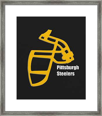 Pittsburgh Steelers Retro Framed Print by Joe Hamilton