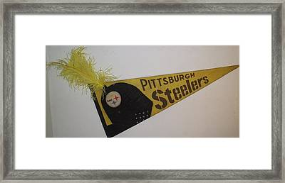 Pittsburgh Steelers Framed Print by William Douglas