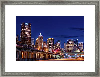 Pittsburgh Strip District 2 Framed Print by Emmanuel Panagiotakis